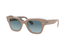 Óculos Solar Ray-Ban Feminino State Street Bege 0RB218612973M
